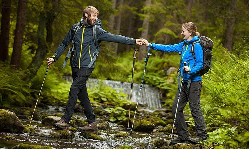 compañerismo con el trekking